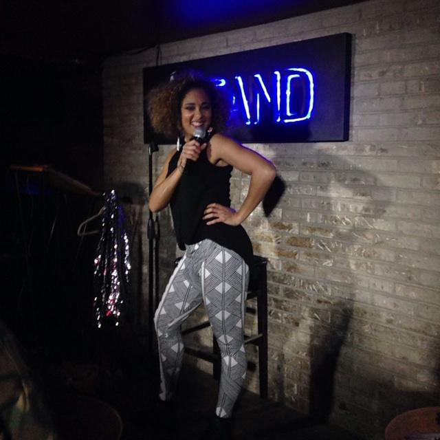 "Awesome show @TheStandNYC  for @amandaseales ""it's complicated"" tonight! praise #theoracle http://t.co/N3ae5R0dVs"