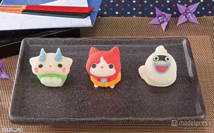 「妖怪ウォッチ」の和菓子が登場 愛らしい表情を忠実に再現  #妖怪ウォッチ #和菓子