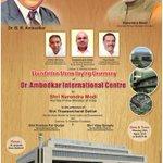 Foundation Stone Laying Ceremony of Dr. Ambedkar International Centre by PM Shri @narendramodi today. http://t.co/c9pdycsiHC