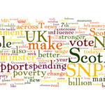 Continuing the theme, heres a word cloud of @NicolaSturgeons speech launching #SNPManifesto #GE2015 http://t.co/YNJwyi8KQg