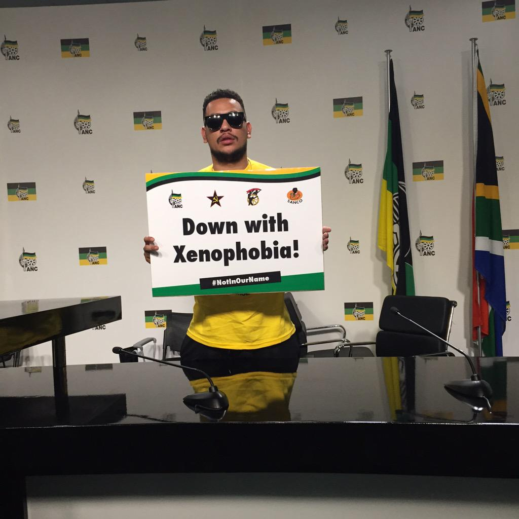Heed the call #NotInOurName #StopXenophobia #AfricaUnite @akaworldwide http://t.co/hZlk6sZAll