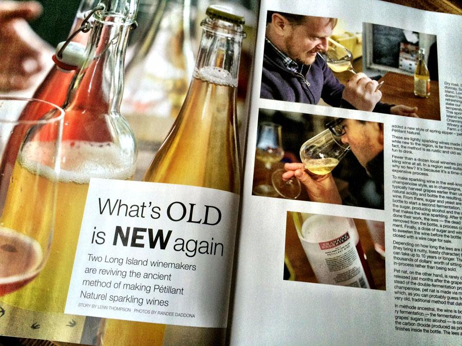 """In the """"Long Island Wine Press"""": What's Old is New Again http://t.co/7zQerJOKbM @cdwwine @SoutholdFC #NYwine #liwine http://t.co/FJULRLMzbM"""