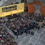Great pic of the #snpmanifesto launch at Edinburgh International Climbing Centre. Stunning venue. #GE15 #voteSNP http://t.co/HmtYruCcZ2