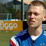 [VIDEO] @ViktorGFischer de dag na zijn comeback. 'Nu ben ik echt terug.' http://t.co/uojqQ17I0R.' #ajanac http://t.co/Z12LqQ2XrF