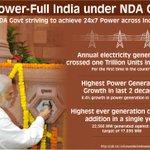 Historic Progress in the Power Sector. http://t.co/sXTZuPxYfJ