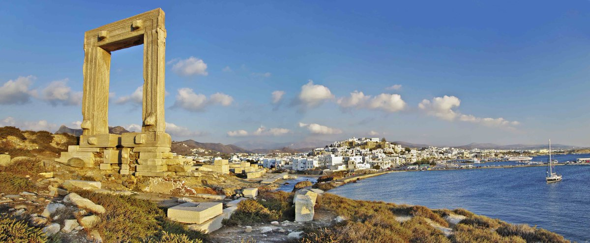 The island of Naxos chosen among the Top10 islands in the world by @TripAdvisor users.