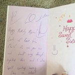 This birthday girl got a letter from 5sos and its so funny oh my god she wins at life http://t.co/Wl8M9NZTow