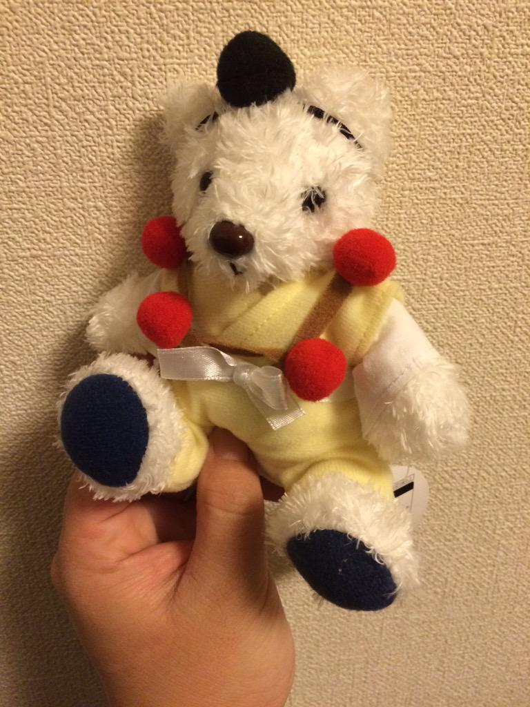吉野山で修行中の山伏のくまのひとを見つけたのでお迎えした。 「くまぶしくん」です。 http://t.co/bRh8YQNoLm