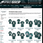The #Eagles pro-shop is selling more versions of Tim Tebows jersey than they are Sam Bradfords jersey. http://t.co/9MqJVLcwUY