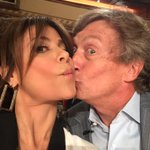 Me and @dizzyfeet having fun during a break at #SYTYCD auditions. :) xoP
