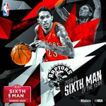 The @Raptors @TeamLou23 named 2015 @Kia Sixth Man of the Year! #KiaSixth http://t.co/B1lsDEh52a