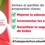 Estamos #TrabajandoPorLoQueMasQuieres: educación, mejores salarios y seguridad. https://t.co/HLvLF1GSXE http://t.co/TTDCKua75q