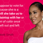 Jada Asks: If Hillary Clinton is voted into the presidency will she represent all women? http://t.co/vOfoWpE6J6 #QTNA http://t.co/zJXpN4QWhT