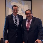 Honored to welcome our friend Iraqi FinMin @HoshyarZebari to @StateDept for consults on supporting #Iraqs economy. http://t.co/a2TMCU3aK8