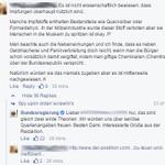 Impfgegner vs. Bundesregierung, heute auf Facebook. #mussmanwissen http://t.co/cesMCKHVeI