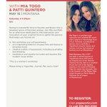 Modern Muse with @PattiQuintero // May 16 // @YogaWorks Montana St. #SantaMonica #LA #CA #Yoga http://t.co/C8ZFV6xOh8
