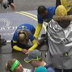 WATCH: Survivor Rebekah Gregory DiMartino crosses the Boston Marathon finish line: http://t.co/2hQlXgaBvZ #fox25 http://t.co/7UCPVmgMdo