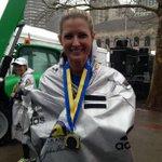 She did it! @bostonmarathon bombing survivor @rebekahmgregory runs again. #RebekahStrong http://t.co/EEZcmtjkob