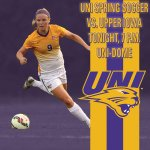 We have moved GAME DAY indoors! Upper Iowa vs UNI 7 pm tonight in the UNI-Dome. #UNIFight http://t.co/G4iYWeVXbL
