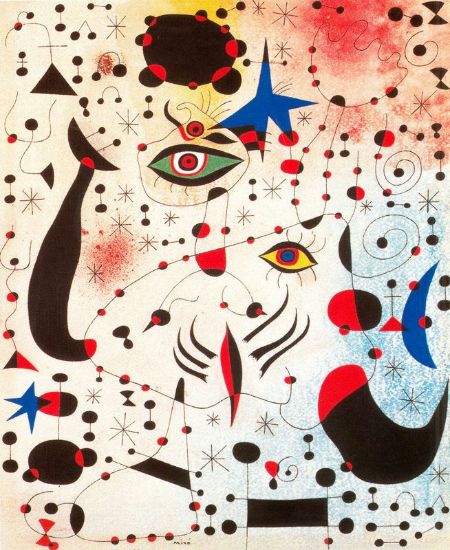 """The work must be conceived with fire in the soul but executed with clinical coolness.""  Happy Birthday to Joan Miró. http://t.co/L0F085n01t"