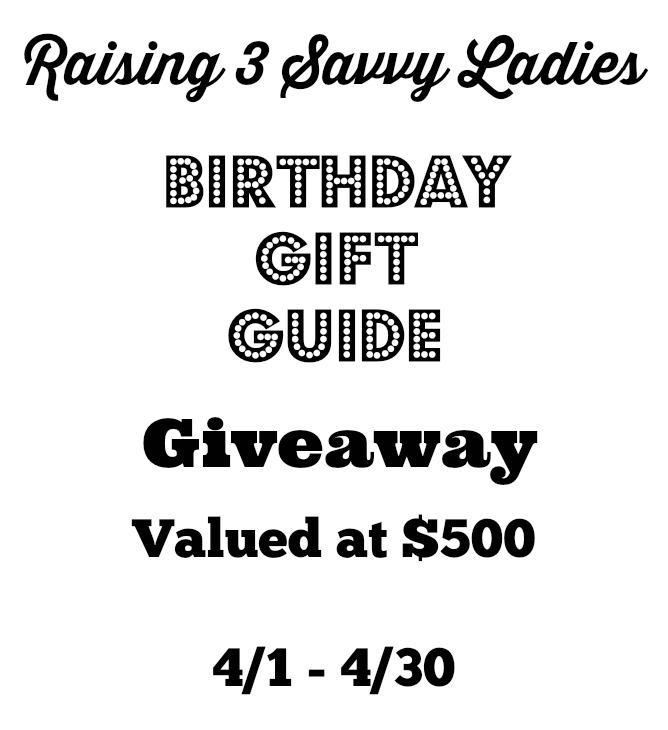 Don't delay! Enter to #win the Birthday Gift Guide and $500 in Gifts #Giveaway http://t.co/zm1edYTwfm http://t.co/TqSQmgs3Qk