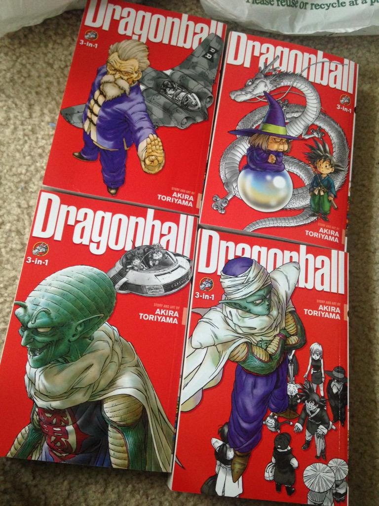 Cleaning out my local Barnes&noble of Dragonball they had 7 now 2 vols remain @VIZMedia and yes I got the other VOL http://t.co/gXeVixyjKn