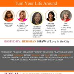 """Step into your greatness and join the """"I am a warrior 180 Tour"""" hosted by @bershanshaw. See you there! #Iamawarrior http://t.co/MXeXeZJTGa"""