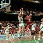 On this date in 1986, Michael Jordan set an NBA playoff record by dropping 63 points against the Celtics. http://t.co/oSWVcEiq7d