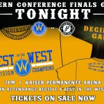 TONIGHT IS THE NIGHT! Lets make KP Arena look like a sea of GOLD! #AllGoldEverything http://t.co/Lj1FWTztmi