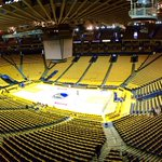 Every person in these seats needs to lose their voice tonight. #NBAPlayoffs http://t.co/y0UiTA8xnk