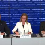 Extraordinary #FAC & #HomeAffairs Council Press Conference @FedericaMog @eu_eeas: #migration http://t.co/8VLdxXAbNI http://t.co/bK4PMzMPQu