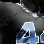 """New """"brand identity"""" for UNC includes argyle on the football unis http://t.co/j2S1mZiHAD http://t.co/z7uRWeDyDN"""