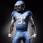 New Carolina Blue @Nike uniforms for #UNCFB. #OURBLUE http://t.co/VKJRaMxNs7