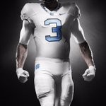 New white @Nike uniforms for #UNCFB. #OURBLUE http://t.co/StuiincZ75