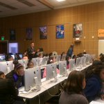 Our first day of #CodeClubs kicked off today in #Oakland w/ 32 tech divas! Were excited!#changeherpath http://t.co/BCt6mhwS6h