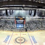 A long time in the making, @NHLJets fans welcome the #StanleyCup Playoffs home. #WPGWhiteout http://t.co/tEQEyoQTa8