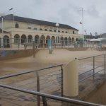 Blankets of sand at Sydneys beach suburbs as gale-force winds cause havoc http://t.co/sVtd0c88Rr #storm #nswstorms http://t.co/qoD1zoZWLM