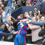 INVERNESS: Caley Thistle fans celebrate making Scottish Cup history @ICTFC http://t.co/5NfToJ8xEp http://t.co/UvpXsOTUwa