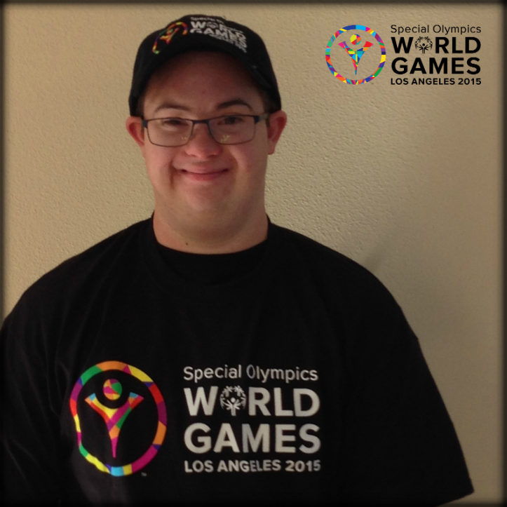 Friend & supporter Chris Sutter, son of @LAKings Head Coach Darryl Sutter, is lookin' good in his World Games gear! http://t.co/SGzyOgbGh8
