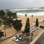 Coogee beach got an overnight extension #SydneyWeather http://t.co/HtiapgylXC