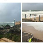 Trees uprooted, fences damaged and displaced sand in Coogee. @chrisurquhart #SydneyStorm #9News http://t.co/Ogqrddnz9g