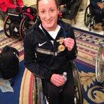 Tatyana McFadden wheelchair winner talking about her love of Richards family #wcvb #boston @LiamWCVB http://t.co/FWxVRkXBvc