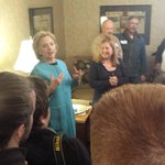 .@HillaryClinton attended the Claremont house party for 90 mins. About 40 people were there. #fitn #nhpolitics http://t.co/jiJGQWeZPH