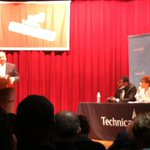 Candidate Nelson Diaz takes the stage, emphasizes digital literacy at #PTW15 http://t.co/YK8JsCd65w