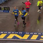 "Marathon Bombing Survivor Rebekah Gregory Calls Finish Line Crossing A ""New Beginning"" http://t.co/LrYIjqTW2z http://t.co/sqKbajandT"