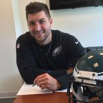 [PHOTOS] Get to know our newest #Eagles QB @TimTebow: http://t.co/dBvuAEGpZ1 http://t.co/zr2Ml0WuC8
