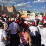 Llega @JMCarreras2015 a la Plaza de Soledad #MasYMejor http://t.co/CmvxB6IDGN