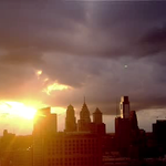 Just gorgeous #Philadelphia #sunset http://t.co/m01CXXdIGD