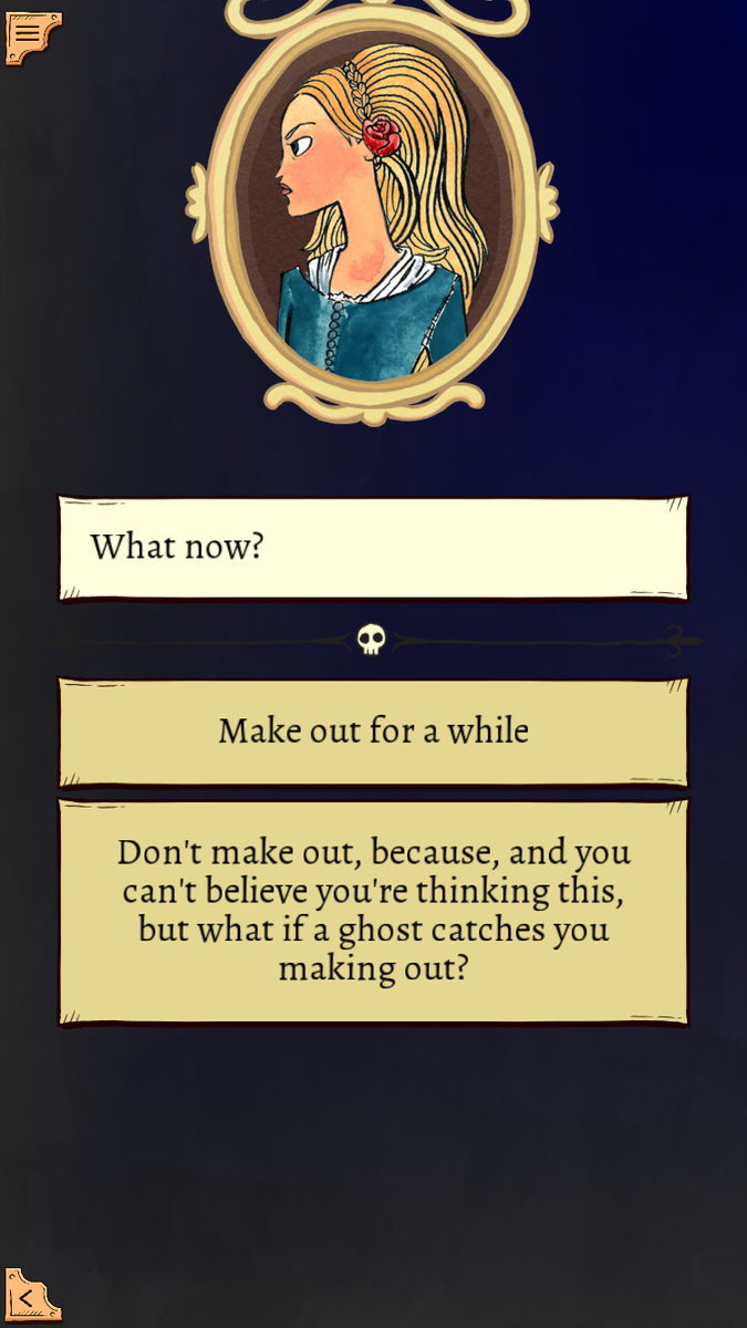 Okay, @ryanqnorth's To Be Or Not To Be is wonderful, as is @TinManGamebooks' iOS adaptation http://t.co/ZI3vJEFG4e