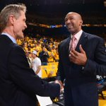 """#ICYMI: #Pelicans coach says noise at #OracleArena is """"out of hand."""" http://t.co/HuPLnRJefD #Warriors #NBAPlayoffs http://t.co/dGLuojYAKl"""